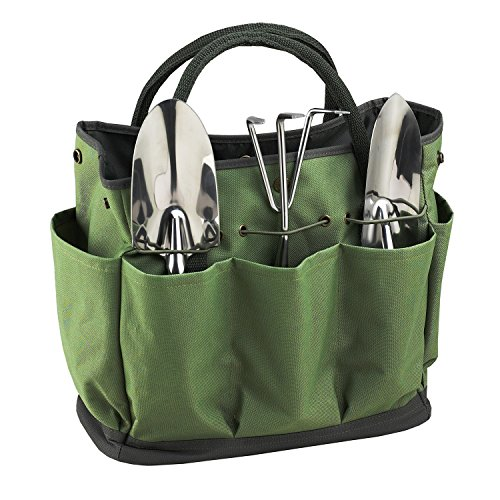 Picnic at Ascot 341-FO Designed & Assembled in The USA 3 Stainless Steel Tools, One Size, Forest Green