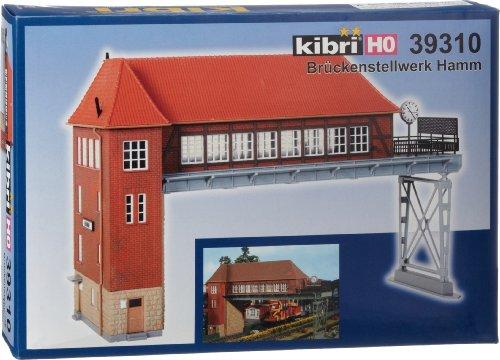 Kibri 39310 - Modellismo Ferroviario, Cabina di Blocco a Ponte di Hamm, Scala H0