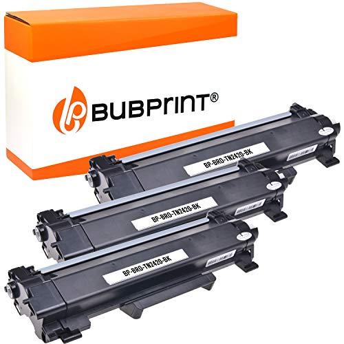 3 Bubprint Toner kompatibel zu Brother TN-2410 TN-2420 DCP-L2510D DCP-L2530DW DCP-L2550DN HL-L2310D HL-L2350DW HL-L2370DN HL-L2375DW MFC-L2710DN DW MFC-L2730DW MFC-L2750DW Schwarz je 3.000 Seiten