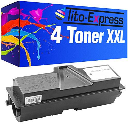 PlatinumSerie® 4x cartucho de tóner compatible con Kyocera Mita TK-1130 Black ECOSYS M 2030 DN ECOSYS M 2030 DN PN ECOSYS M 2530 DN FS-1030 FS-1030 MFP FS-1030 MFP DP FS-1130 FS-1130 MFP FS-1130MFP DP