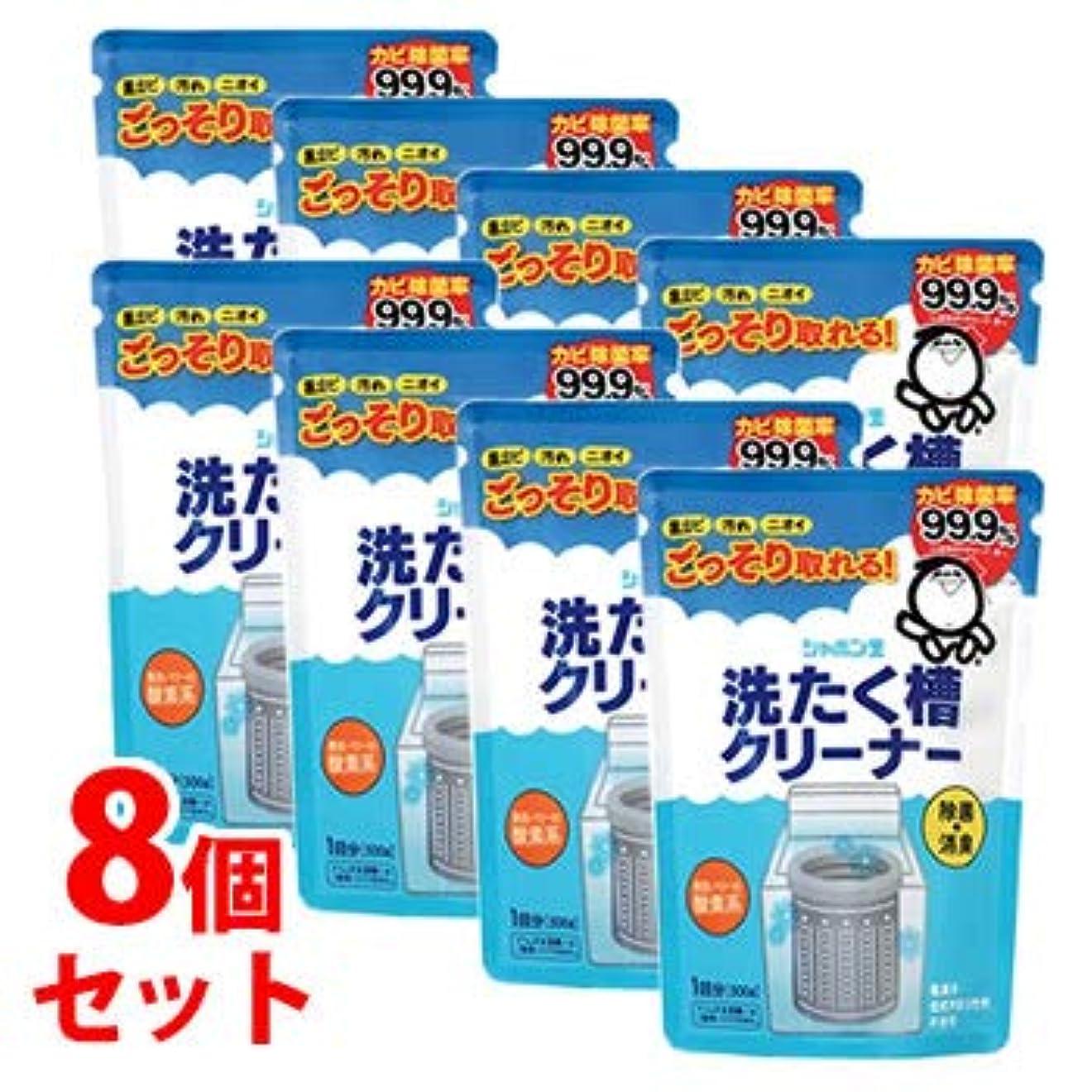 形状火傷シンク《セット販売》 シャボン玉 洗たく槽クリーナー (500g)×8個セット
