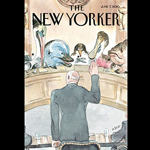 The New Yorker, June 7th, 2010 (John Lanchester, Larry Doyle, Jeffrey Eugenides) cover art