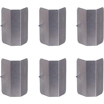6 Clip di Ricambio per deflettori Antivento e Pioggia per Heko G3 Clip Wapern