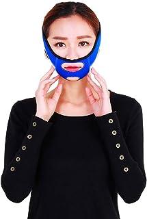 Jia Jia- フェイシャルリフティング痩身ベルトフェーススリム二重あごを取り除くアンチエイジングリンクルフェイス包帯マスク整形マスクが顔を引き締める 顔面包帯