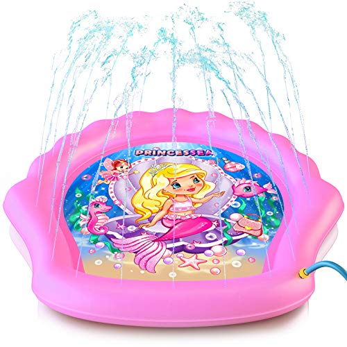 PrincesSea Splash Pad for Girls, XL 78