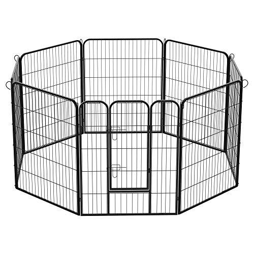 PawHut Recinto Modulare per Cani Dimensioni 80x100cm