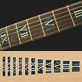Inlay Sticker - Pennarelli per chitarra e basso, colore: Nero perla F-018RN-BP