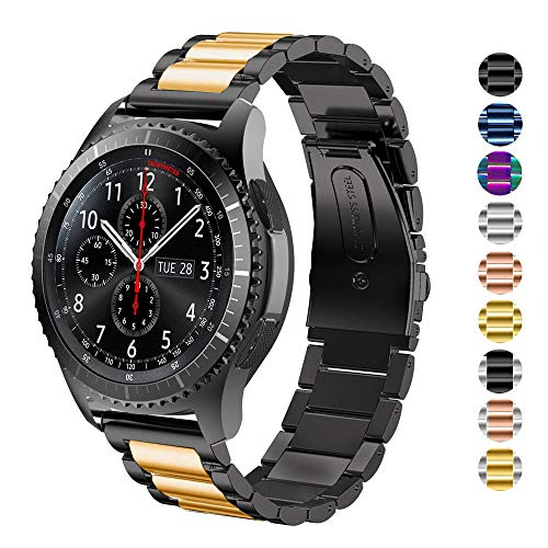vector smartwatch DEALELE Cinturino Compatible con Samsung Gear S3 Frontier/Classic/Galaxy Watch 46mm / Huawei GT2 46mm