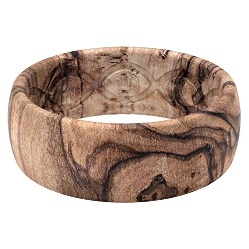 wood-style silicone rings