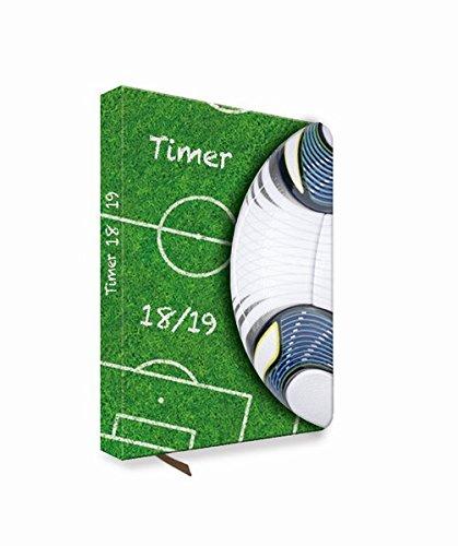 Schülerkalender Fussball 2018/2019 - Schulplaner, Schülerplaner: Timer mit Magnet-Klappe
