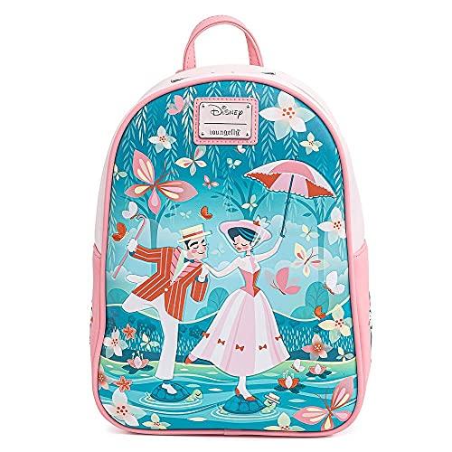 Loungefly Disney Mary Poppins Jolly Holiday Mini mochila  Multi  Talla única