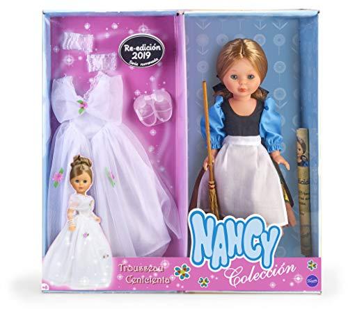 Nancy Collection - Trousseau Cinderella Puppe, Mehrfarbig (Famosa 700015374)
