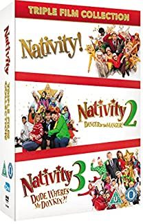 Nativity Triple Film Collection - Slimline Version