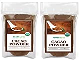 Healthworks Cacao Powder (48 Ounces / 3 Pound) | Cocoa Chocolate Substitute | Certified Organic | Sugar-Free, Keto, Vegan & Non-GMO | Peruvian Bean/Nut Origin | Antioxidant Superfood