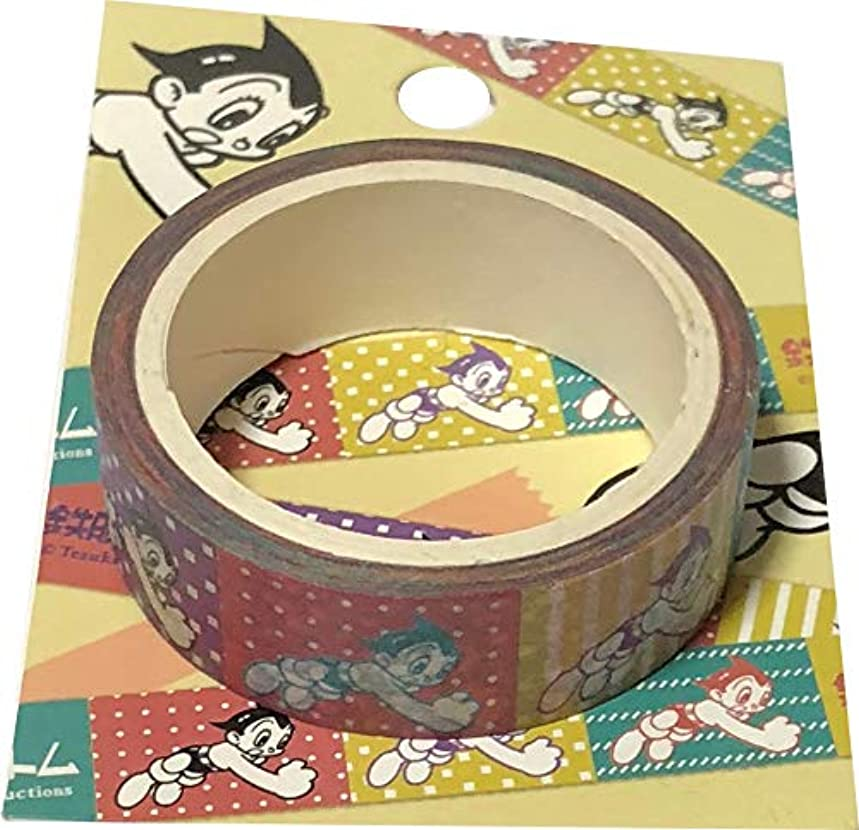 Astro Boy Tezuka Productions Paper Masking Tape Length 5 m Width1.5 cm Sticker Decoration Arts, Crafts & Sewing Stationery Japan (Original Style)