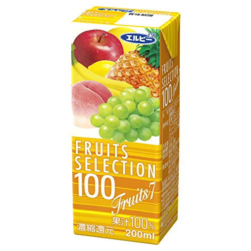 Elbis wybór owoców i Seven 100% 200 ml X24