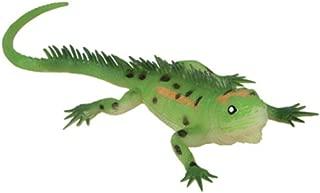 Rhode Island Novelty Beige PVC Soft Plastic Reptile Lizard Decoration