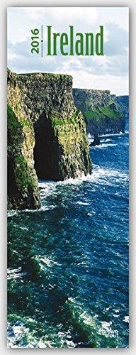 Ireland 2016 - Irland: Original BrownTrout-Kalender - Slimline [Mehrsprachig] [Kalender] (Slimline-Kalender)