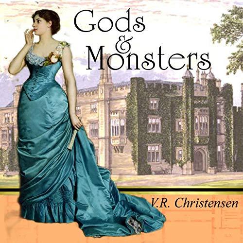 Diseño de la portada del título Gods and Monsters