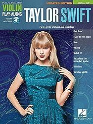Violin Playalong Vol.037 Swift Taylor + Cd