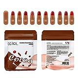 8/10 unidades de mini pintalabios Cápsulas Candy Mate Tipt Terciopelo Lippe Makeup Bag impermeable duradero brillante para mujeres y niñas (STYLE2-10PCS)