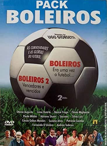 Pack Boleiros - 2 DVDs - [Boleiros - Era uma Vez no Futebol / Boleiros 2 - Vencedores e Vencidos] Ugo Giorgetti