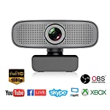 Spedal Full HD Webcam 1080p, Beauty Live Streaming Webcam, Computer Laptop Camera for OBS Xbox…