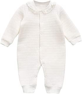 WOCACHI Unisex Baby Pajamas, Infant Newborn Romper Bodysuits Sleeper Sleepwear