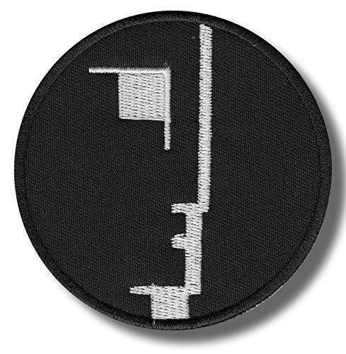 Bauhaus - Parche bordado para planchar