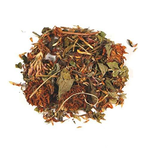 Herbis Natura Rotkleeblüten ganz, für Tees & Tinkturen, bei Beschwerden in der Menopause, lose Blüten vom Wiesenklee, trifolium pratense,100 g