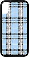 Wildflower Limited Edition iPhone Case for iPhone X and XS (Blue Plaid)