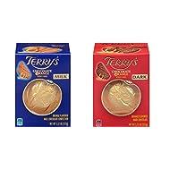Terry's Milk and Dark Chocolate Oranges 2 pack (5.53 oz each)