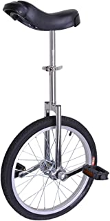 Mageshi Wheel Unicycle Leakproof Butyl Tire Wheel Cycling Outdoor Sports Fitness Exercise Health US Delivery