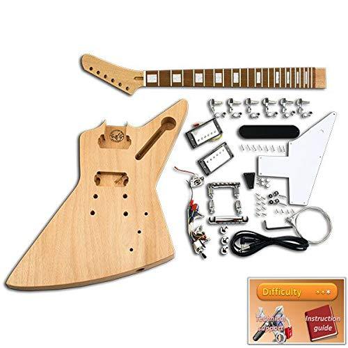 Kit de Guitarra DiY - Explorador, Caoba