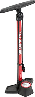 Zefal - Inflador de taller Zefal Profil Max FP30 c/manomet, negro y rojo