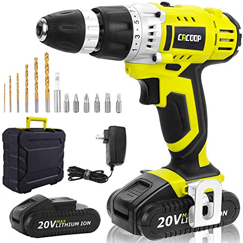 CACOOP Cordless Drill Driver