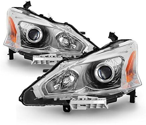 ACANII For 2013 2014 2015 Nissan Altima Sedan Projector Headlights Headlamps 13 15 Driver Passenger product image