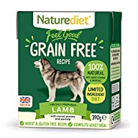 NUTRITIONALLY BALANCED - This complete and nutritionally balanced grain free natural dog food contains all the essential nutrients your dog needs for a healthy diet. Made with freshly prepared Lamb and root vegetables. 100% NATURAL INGREDIENTS FOR SE...