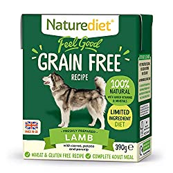 Made using tender British Lamb and a blend of tasty root veggies. Completely free from grain and gluten making it perfect for dogs with sensitivities and intolerances. High grade ingredients from ethical British suppliers. Gently steam cooked to reta...