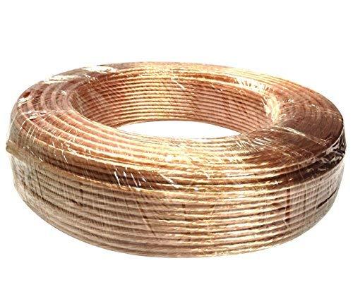 Iore 50m koperen kabel (2 x 4mm2) ✓ CCA koper ✓ Made in Germany ✓ geïsoleerde luidsprekerkabel (LS), hifi-kabel | hoogwaardige high-end boxkabel per meter