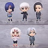 Tokyo Ghoul Kaneki Ken Kirishima Touka Uta Juzo Suzuy Rin Yomo Renji Q Version Figures Toys Model 10cm/4'