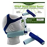 2 CPAP Strap Covers – Superior Comfort Pads to wrap CPAP Nasal mask Straps – No Skin Irritation, no Strap...