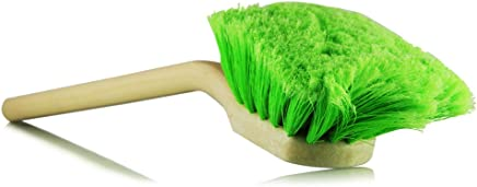 """Chemical Guys Acc_G01 20"""" Long Handle Body/Wheel Brush with Flagged-Tip Bristles (Angled Head)"""