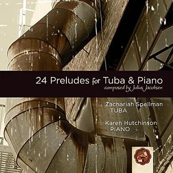 Jacobsen: 24 Preludes for Tuba & Piano
