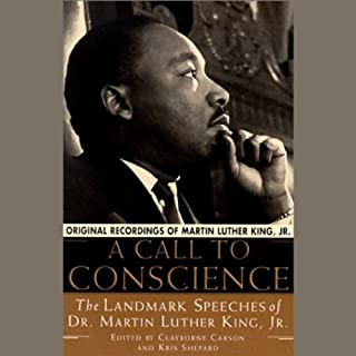 A Call to Conscience audiobook cover art