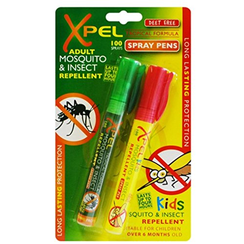 XPEL Adult & Kids Tropical Formula Mosquito & Insect Repellent Pens