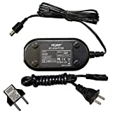 HQRP Replacement AC Adapter / Charger for JVC GZ-MG230, GZ-MG230U, GZ-MG255, GZ-MG31U, GZ-MG31US, GZ-MG330AUA, GZ-MG330AUS Camcorder with USA Cord & Euro Plug Adapter