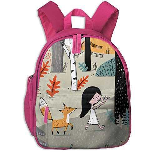 ADGBag Cute Animal Cartoon Elise Gravel Pocket Backpacks Backpack Schoolbag for Childrens Kids Children Boys Girls