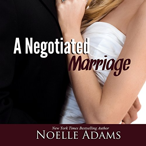 A Negotiated Marriage audiobook cover art