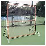 Patios Cebollo de Tenis, Muro de Rebote para Tenis y Raqueta Deportiva de Pelota Deportiva Tablero, Neto de Rebote de Tenis portátil